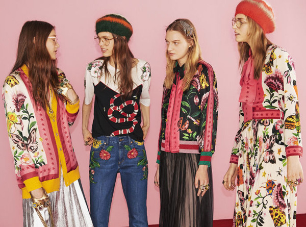Gucci colección exclusiva de ropa y accesorios