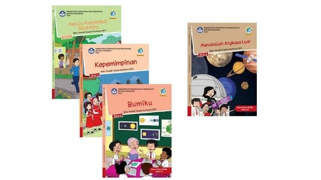 Buku Guru dan Siswa Kelas 6 SD/MI Kurikulum 2013 Semester 2 (Genap) Edisi Revisi 2018