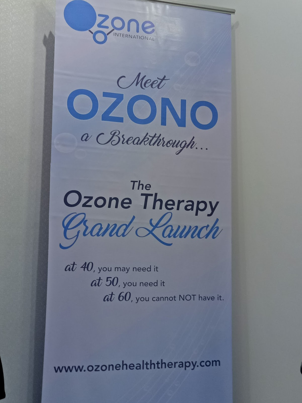 Ozone Therapy is Now in the Philippines - Adventures of a Diva Princess