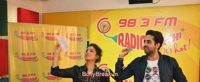 'Hawaizaada' Promotion at Radio Mirchi 98.3FM, Pallavi Sharda At 'Hawaizaada' Promotion at Radio Mirchi 98.3FM