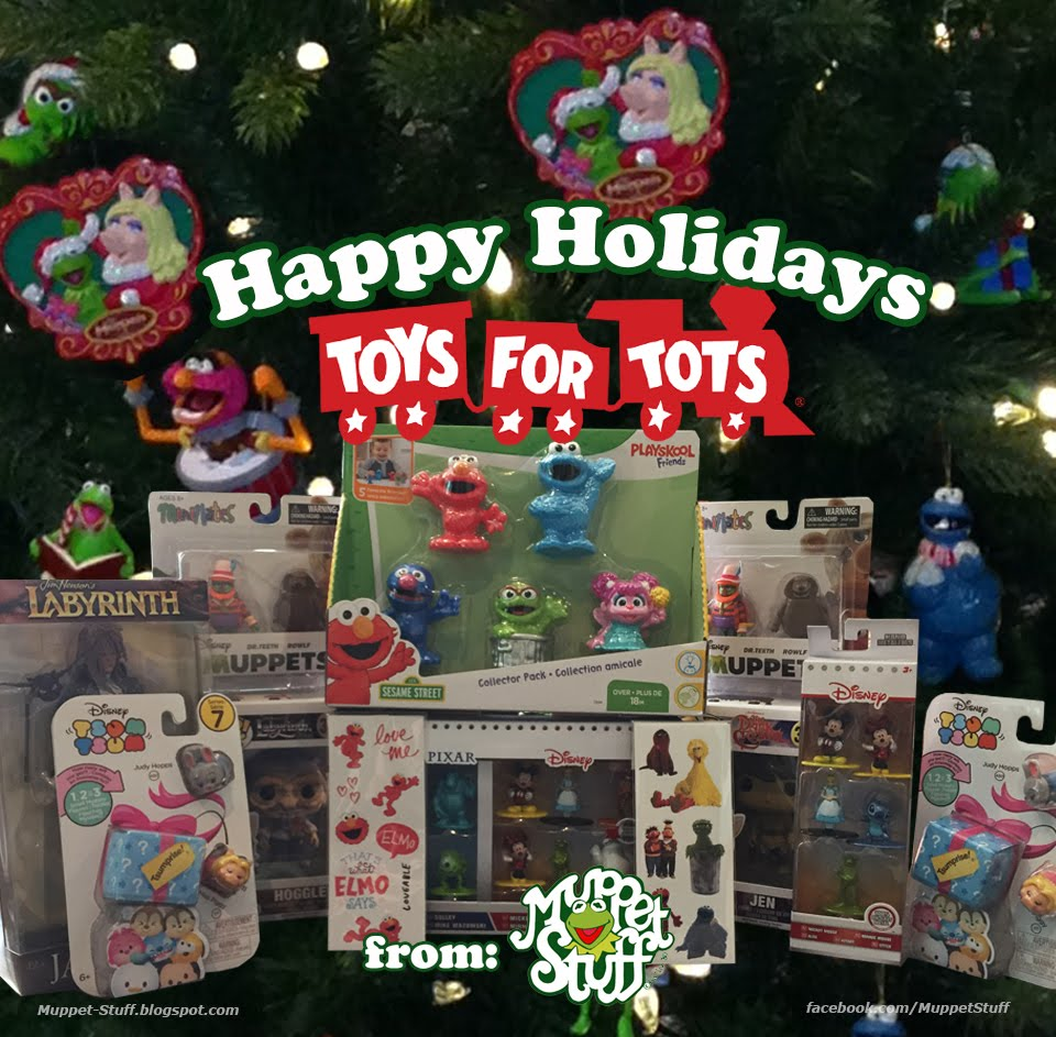 Toys For Tots Charity : Muppet stuff holiday charity toys for tots