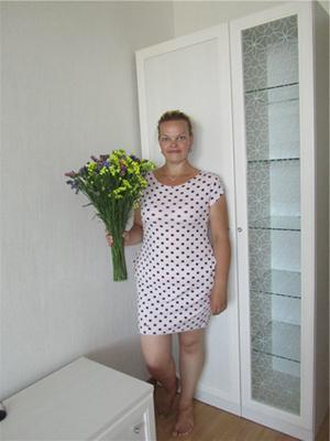 Я похудела и купила себе платье