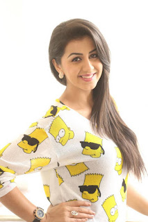 Actress Nikki Galrani Latest Pictures in Tights at Malupu Interview  0003