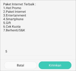 Cara Transfer Kuota Internet Ke Sesama Telkomsel 2