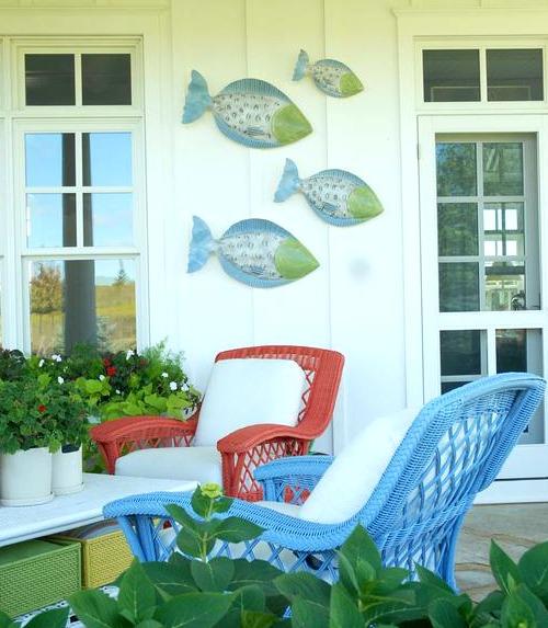 Outdoor Fish Wall Art