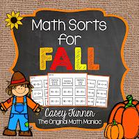 https://www.teacherspayteachers.com/Product/Math-Sorts-for-Fall-1483242
