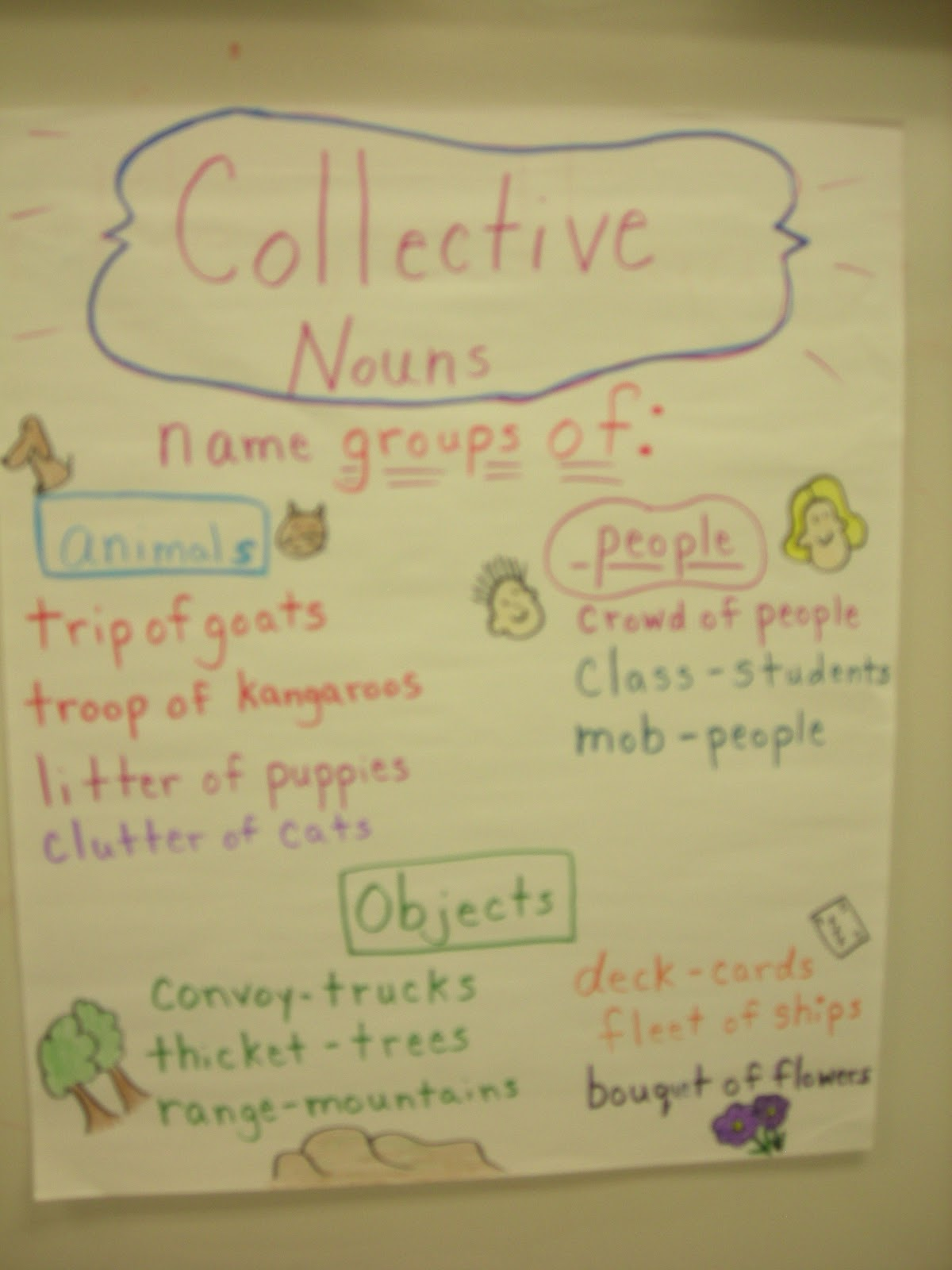 2nd Grade Pig Pen Collective Nouns And A Few Pictures