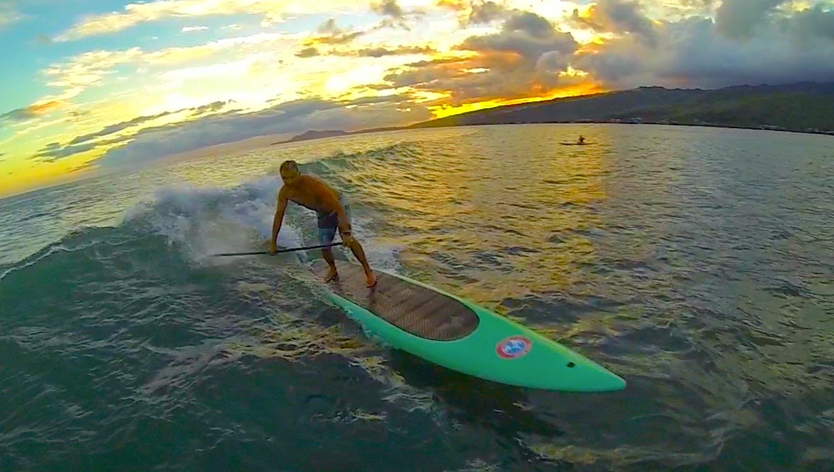 2cf724ac92 Zen Waterman at Stand Up Paddle Surfing in Hawaii ...