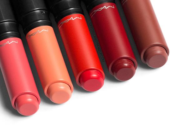MAC Liptensity Lipsticks Review King Salmon Bite Georgia Habanero Fire Roasted Brick Dust
