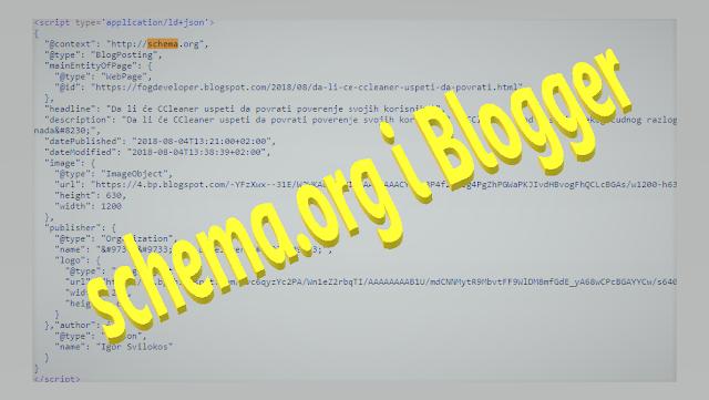 schema.org i blogger