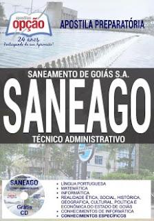 Apostila concurso Saneago Técnico Administrativo