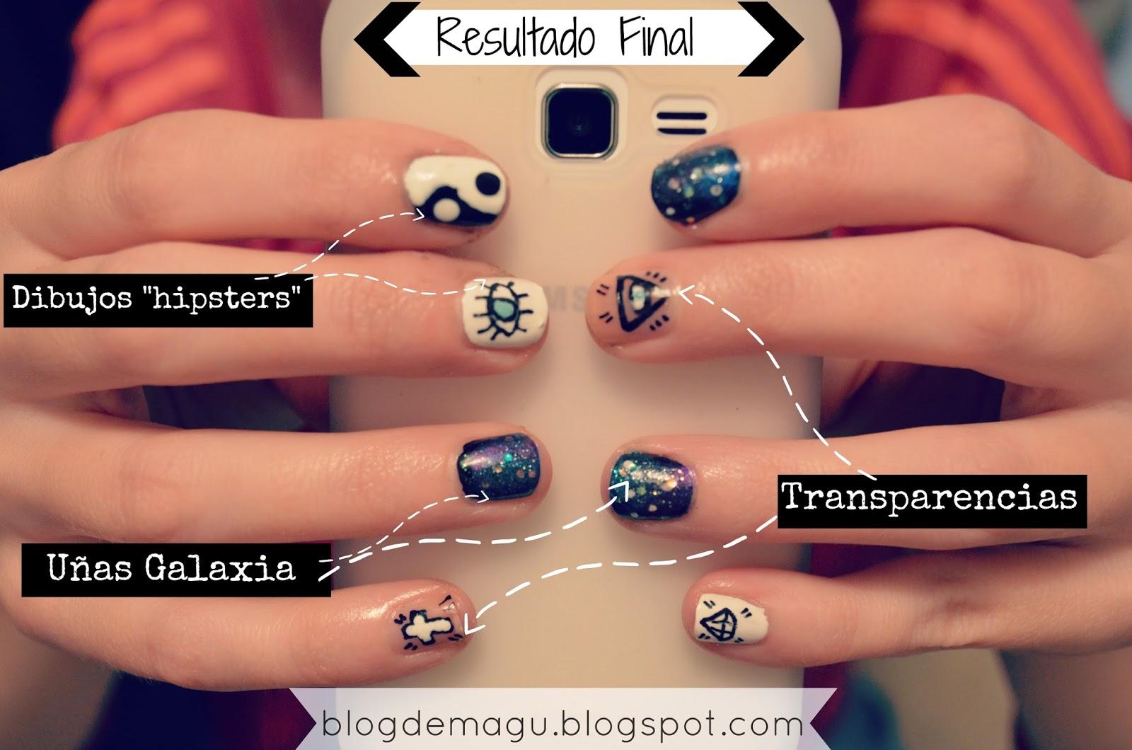 Blog De Magu Nail Art Hipster Nail Art Manimonday