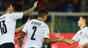 ب 9 اهداف ايطاليا تحقق فوز كاسح على منتخب ارمينيا في التصفيات المؤهلة ليورو 2020