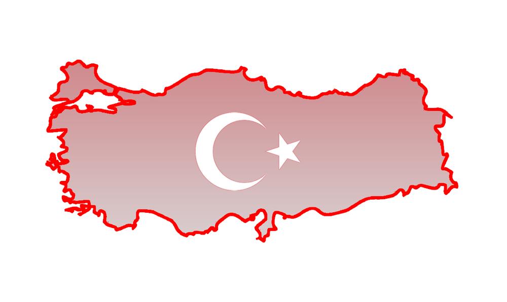 Türkei Umriss