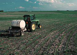 USA, EEUU, fertilizante, nitrógeno, tractor, John Deere