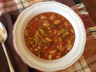 13 Bean Vegetable Soup