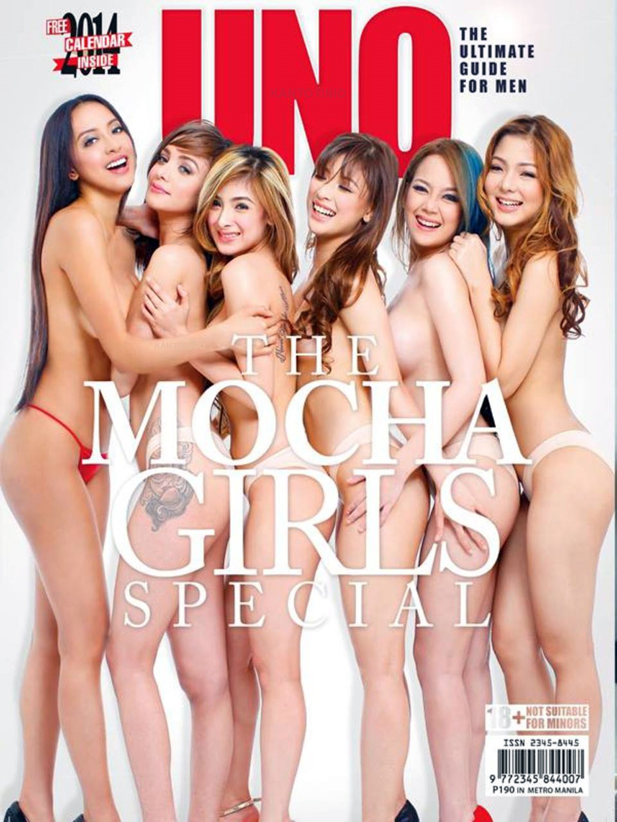 mocha girls uno magazine sexy nude scans