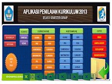 Aplikasi Raport Kurikulum 2013 Kelas 5 SD Format Excel