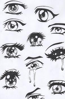 Desenhos De Olhos Passo A Passo