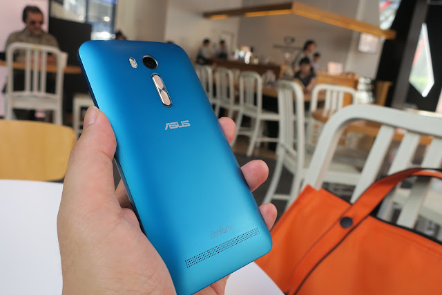 ASUSの新型スマホ,ZenFone Goのハンズオン画像
