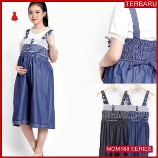 MOM168D12 Dress Hamil Menyusui Rahel Overall Dresshamil Ibu Hamil