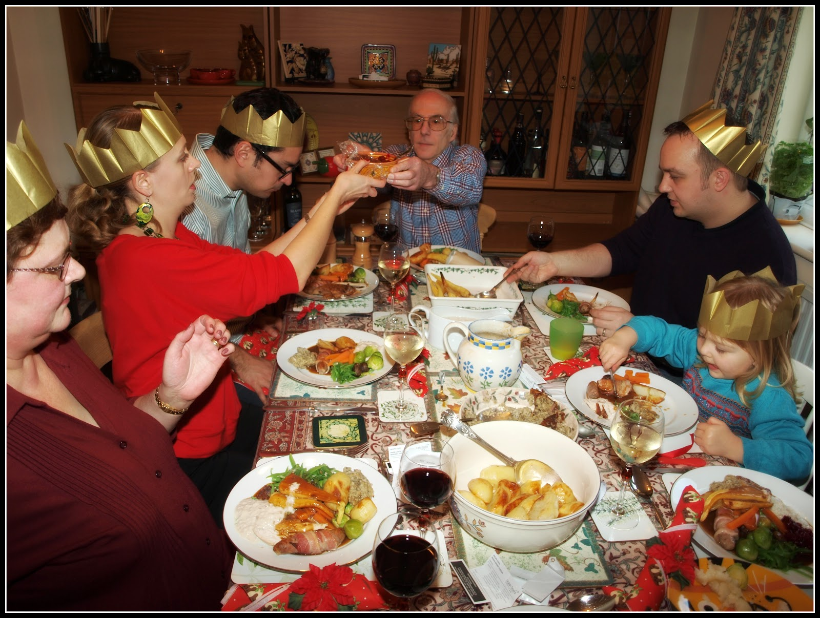 Mark's Veg Plot: Christmas with the family