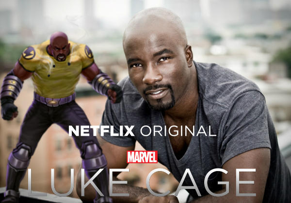 """A serie """"Luke Cage"""" feita em parceria com a Marvel + Netflix, vai ter episódio inspirados em musicas de rap"""