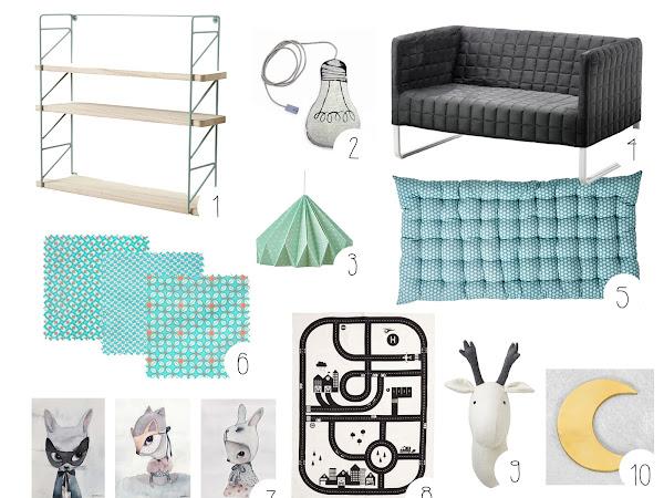Sélection shopping - La chambre des Kids