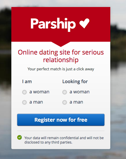 Boyfriend signed up dating website