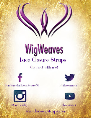 Lace Wig Straps - Black