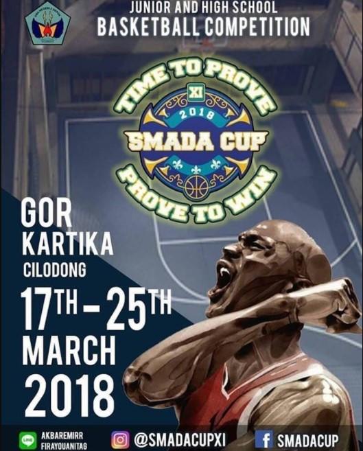 Lomba Basketball Competition SMADA Cup 2018 SMAN 2 Depok
