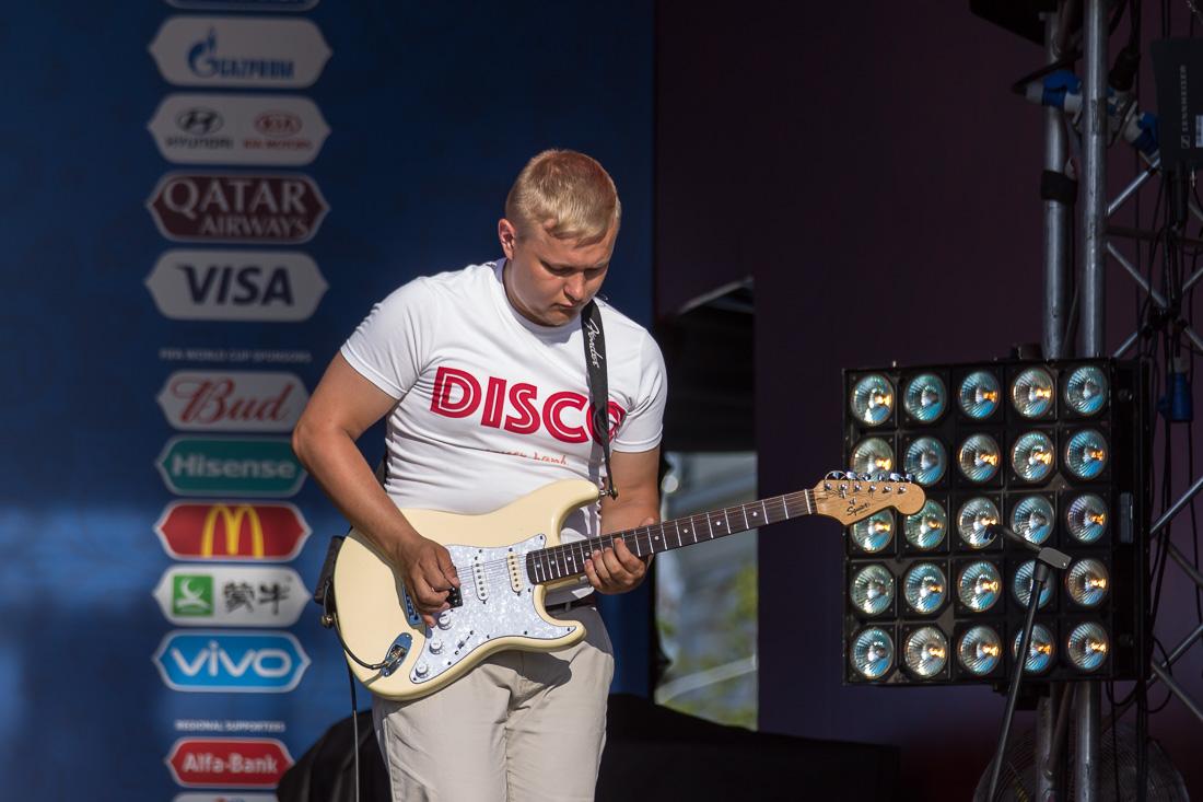 Кавер-группа D.I.S.C.O. гитарист