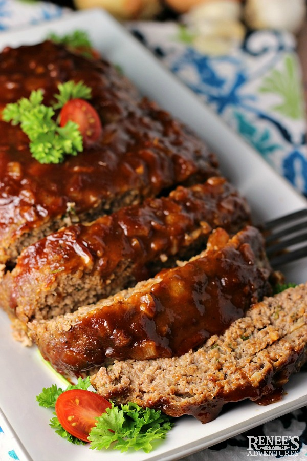 Best BBQ Meatloaf | Renee's Kitchen Adventures