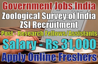 ZSI Recruitment 2019