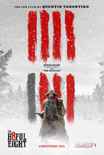The Hateful Eight Demián Bichir Bob aka The Mexican