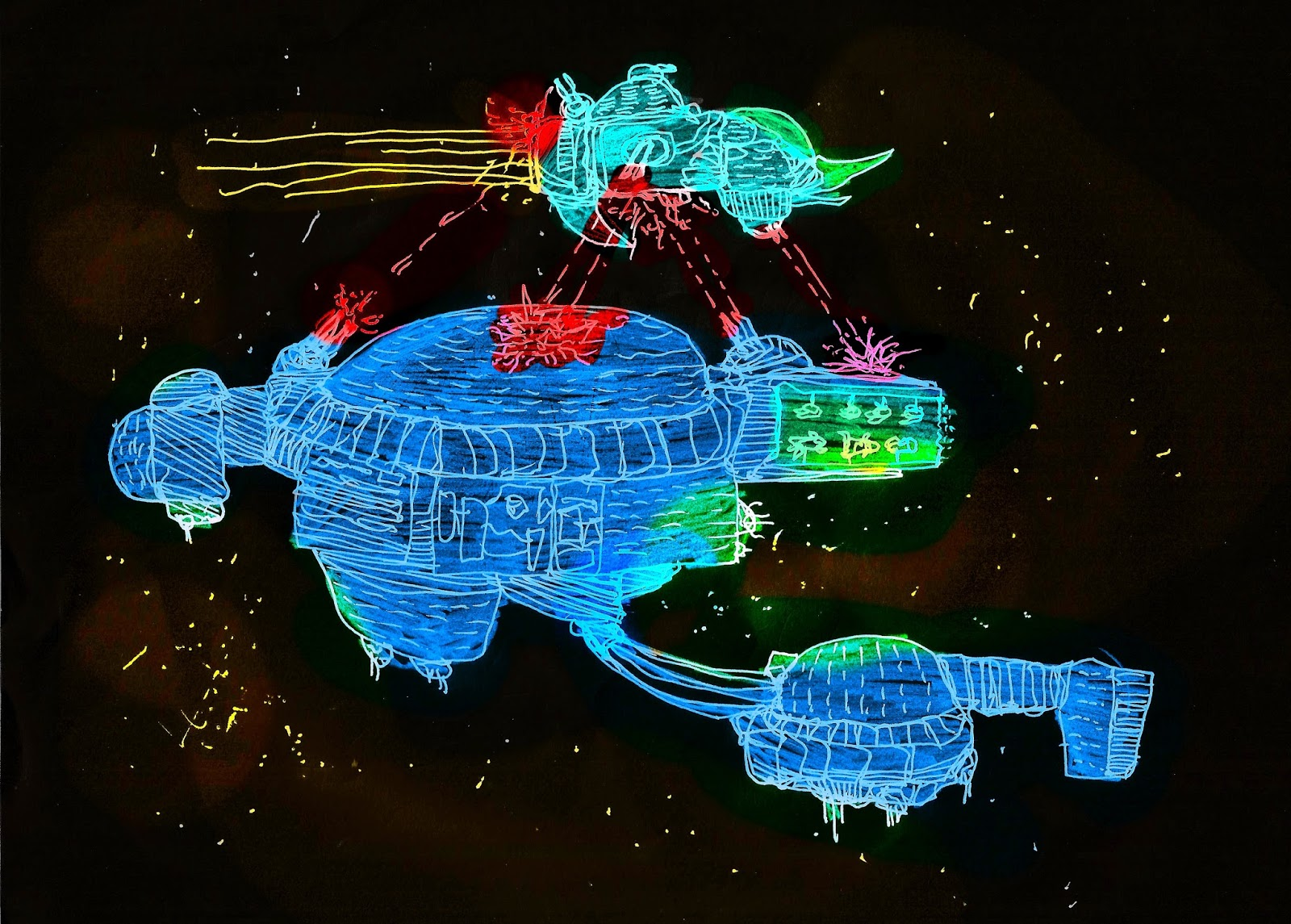 Random Space Encounter Generator | The Lizard Man Diaries