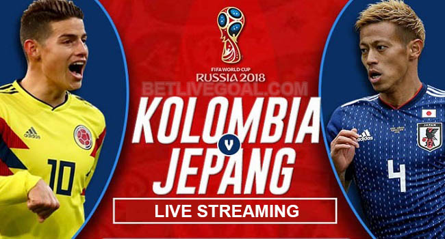 live streaming colombia vs jepang 19 juni 2018