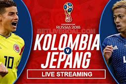 Live Streaming Colombia vs Jepang 19 Juni 2018
