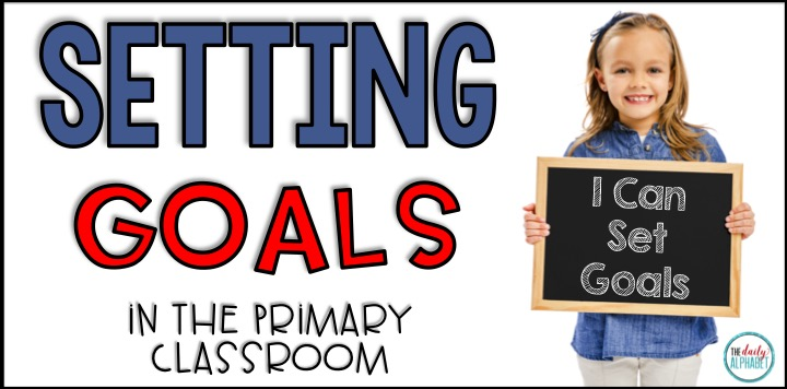 Don't make these mistakes in goal setting! Goal setting for students can promote focus on the learning process, rather than the outcome. Setting goals in the primary classroom can be easy!