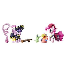 Twilight and Pinkie Pie Pirate My Little Pony Movie Guardians of Harmony