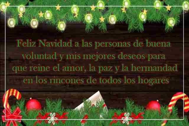 La navidad es dar y compartir
