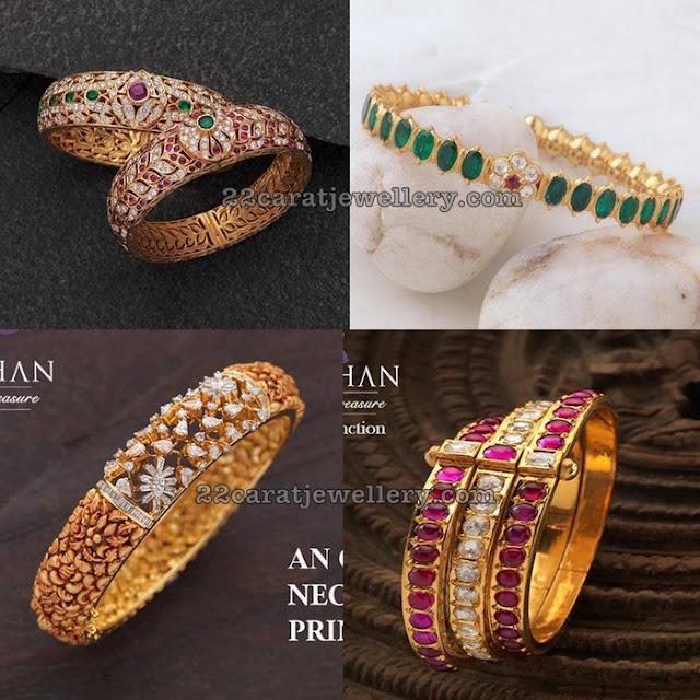 Diamond Emerald Kada Designs