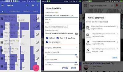 Cara Menggunakan IDM Plus Android