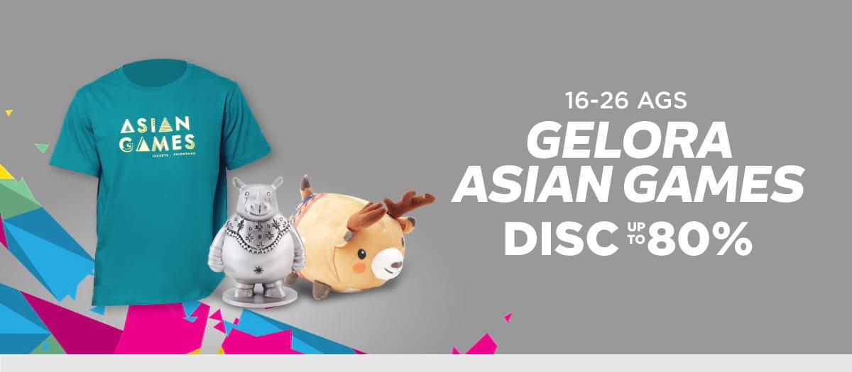 Shopee - Diskon s.d 80% Merchandise Asian Games 2018 (s.d 26 Agustus 2018)