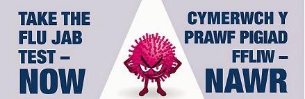 Take the flu jab test