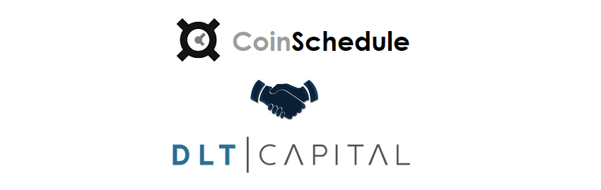 CoinSchedule and DLT Capital Announce Partnership
