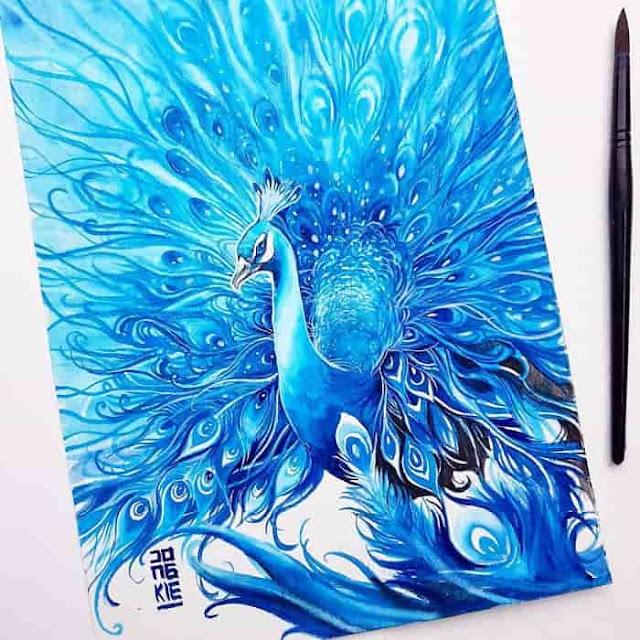 7 Lukisan cat air ini bikin terpesona