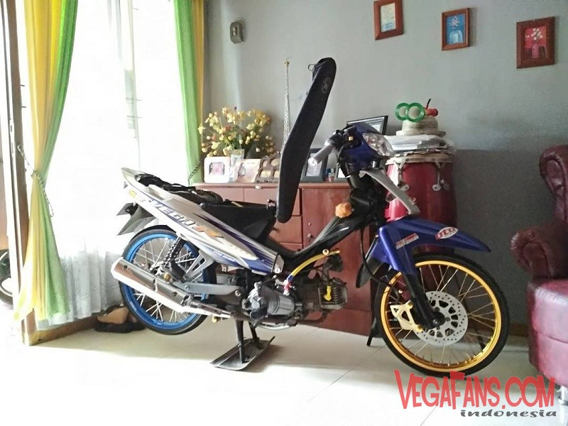 Kumpulan Foto Modifikasi Vega R New Standar Dan Simple