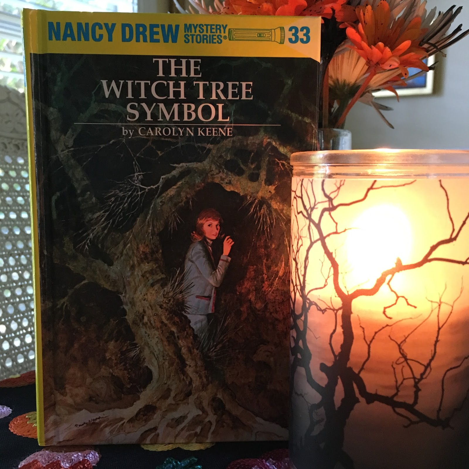 The Sketchy Reader Nancy Drew Mystery Stories The Witch Tree Symbol