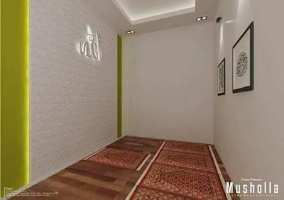 Gambar Desain Mushola Minimalis Rumah Sederhana